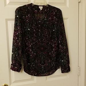 Converse blouse size medium